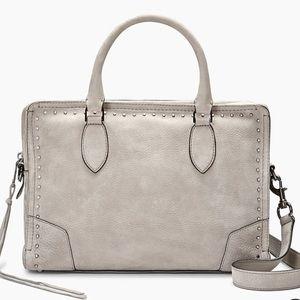 Rebecca Minkoff Gray, Moonwalking Satchel Handbag